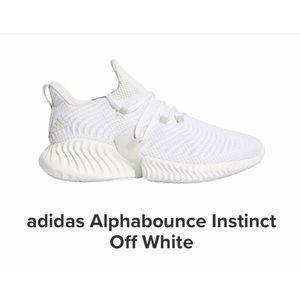 """Adidas alphabounce """"Off-White"""""""